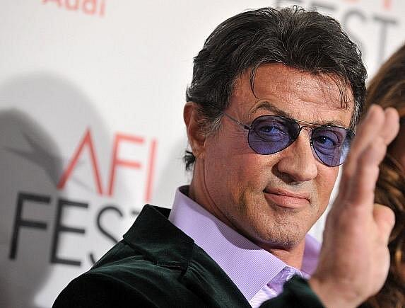 Herec Sylvester Stallone.