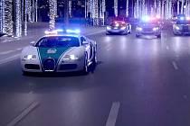 Dubajská policie má hodně zajímavé služebáky.
