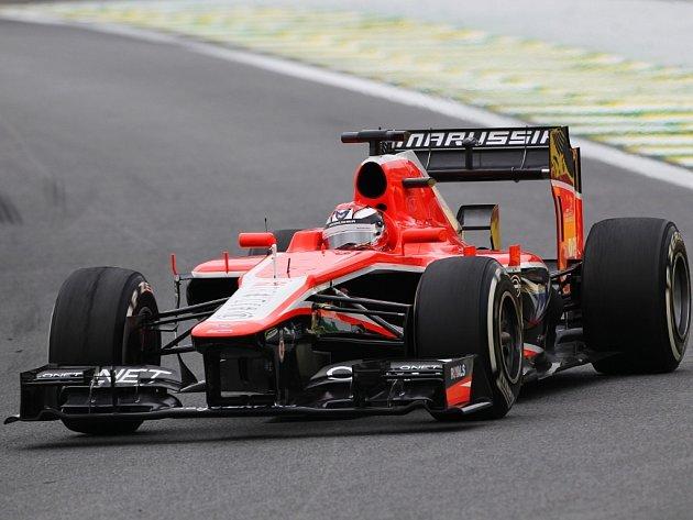 Marussia a Jules Bianchi