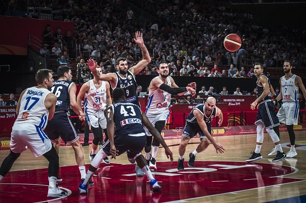 Česko x Řecko, MS vbasketbalu