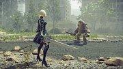 PlayStation 4 hra NieR: Automata.