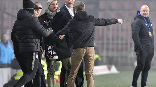 Nespokojený fanoušek a Václav Jílek