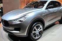 Maserati chystá nový model.