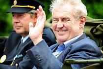 Expremiér Miloš Zeman.