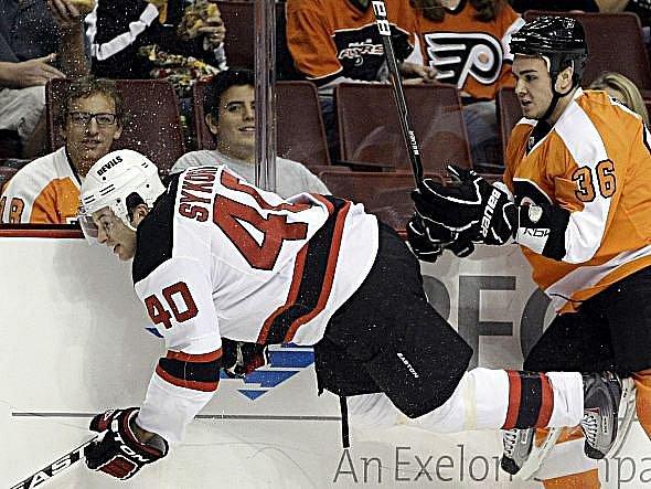 Útočník Petr Sýkora v kempu Devils dokázal, že by se v NHL neztratil.