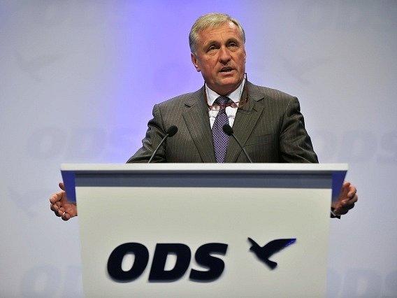 V Brně začal 3. listopadu 23. kongres ODS. Jako host kongresu vystoupil bývalý předseda strany Mirek Topolánek.