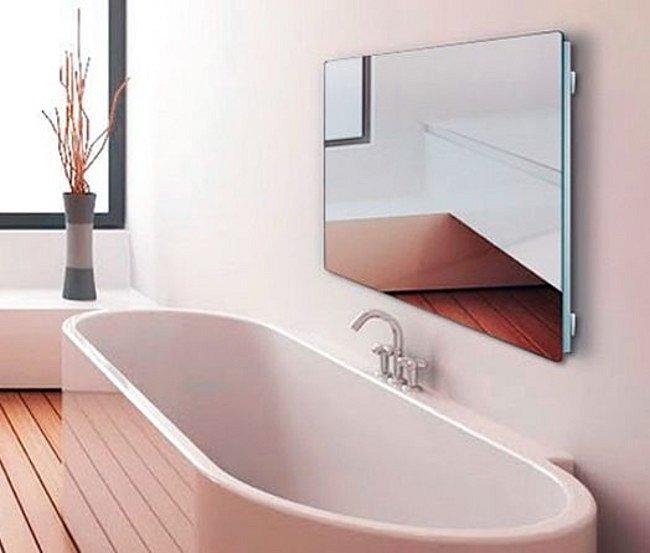 Zrcadlový sálavý panel