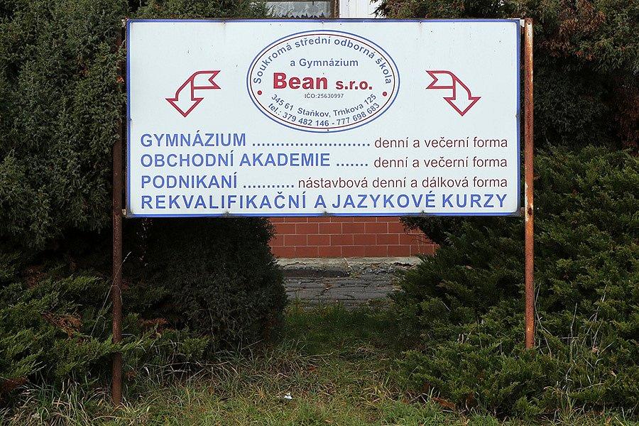SSOŠ a Gymnázium Bean, s.r.o.
