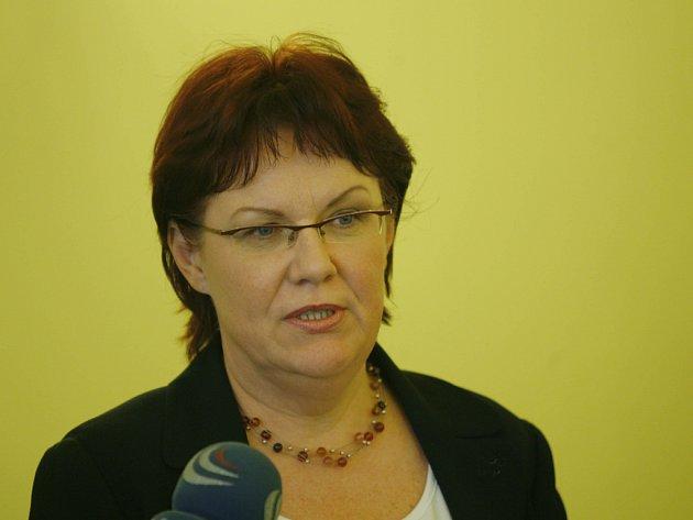 Ministryně školství Dana Kuchtová