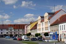 Protivín - náměstí