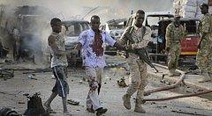 Bombový útok v hlavním městě Somálska Mogadišu. Ilustrační snímek