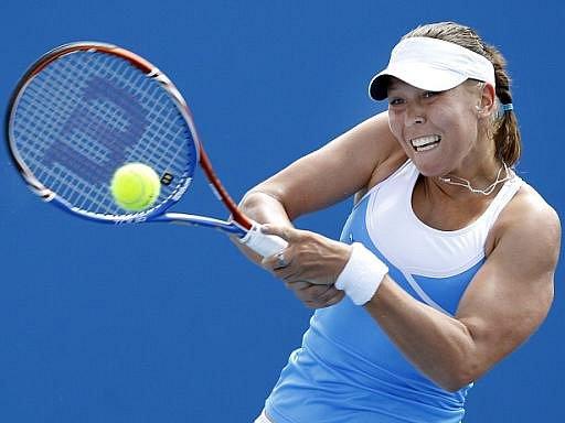 Lucie Hradecká na Australian Open