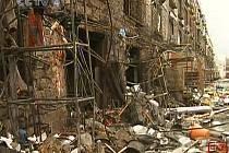 Nedatovaný snímek z Lhasy po skončení nepokojů.