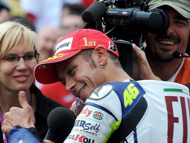 Valentino Rossi dokázal jako jediný jezdec historie získat dohromady ve světovém šampionátu více než  3000 bodů.