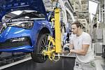 Škoda Auto zahájila sériovou výrobu nového kompaktního modelu Scala v Mladé Boleslavi.