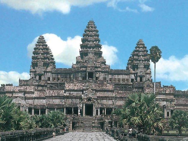CHRÁMY ANGKORU jsou dokladem bohatství Khmérské říše.