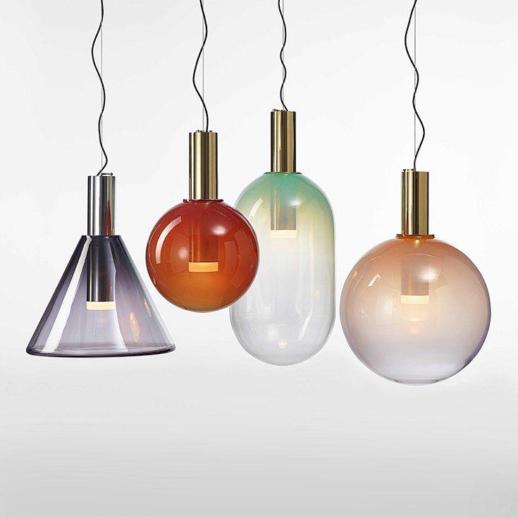 Kolekce Phenomena, kterou vytvořilo pro Bommu studio Dechem, se inspiruje základními geometrickými tvary. Michaela Tomišková a Jakub Janďourek patří mezi oceňované sklářské designéry.