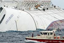 Ztroskotaná Costa Concordia