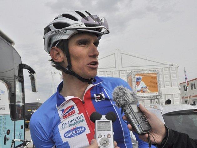 Cyklista Roman Kreuziger na mistrovství světa nedojel závod s hromadným startem.