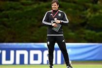 Trenér fotbalistů Walesu Chris Coleman.