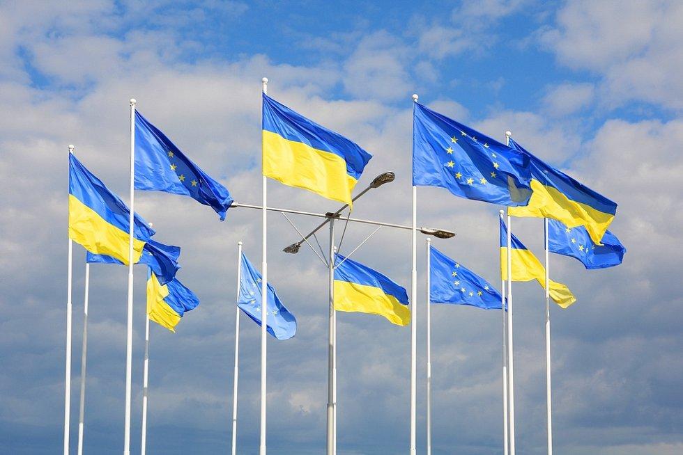 Evropská unie a Ukrajina - Ilustrační foto