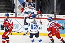 Finsko - Česko: Domácí tým slaví gól v české síti