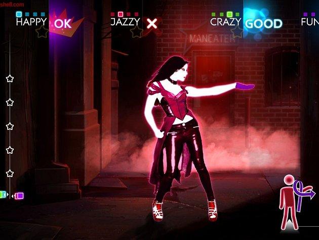 Počítačová hra Just Dance 4.
