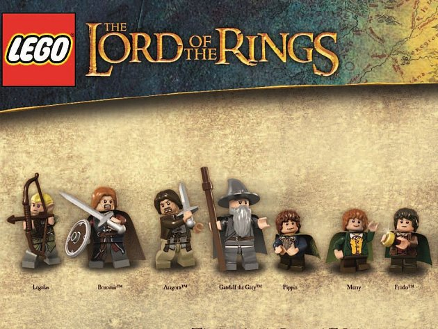 Stavebnice LEGO Lord of the Rings.