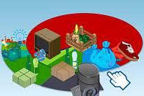 Infografika - jakým způsobem se odpady třídí, recyklují a likvidují?