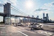 Vizualizace létajícího taxi