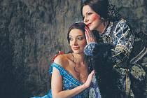 Muzikál Mona Lisa. Dasha jako Mona Lisa a Hana Zagorová coby její matka Caterina .