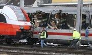 Nehoda vlaku v Rakousku