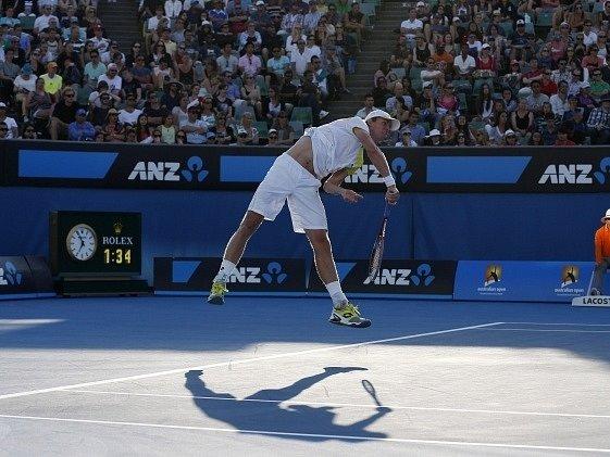 Tomáš Berdych na Australian Open splnil základní cíl.