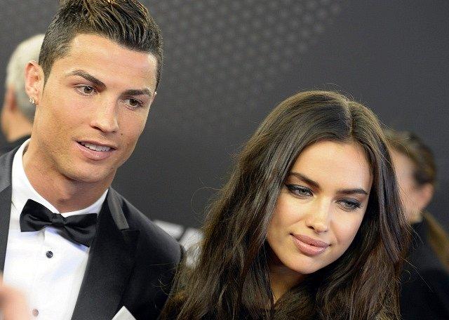 Cristiano Ronaldo se ženou Irinou Shayk