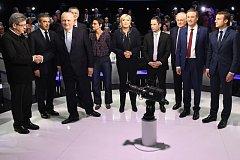 Kandidáti prezidentských voleb ve Francii.