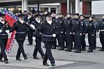 Policisté odjeli střežit hranice Makedonie a Srbska