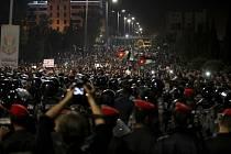 Protesty proti ekonomickým reformám v Jordánsku