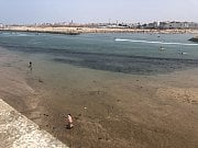 Pohled na řeku a protilehlý břeh z pevnosti v Rabatu