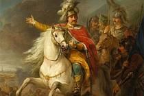 Obraz zachycující vítězství Jana III. Sobieskiho u Vídně.