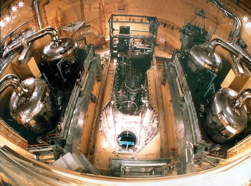 Nahlédnutí do útrob jaderné elektrárny Curuga