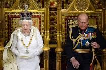 Vévoda Filip a královna Alžběta II.