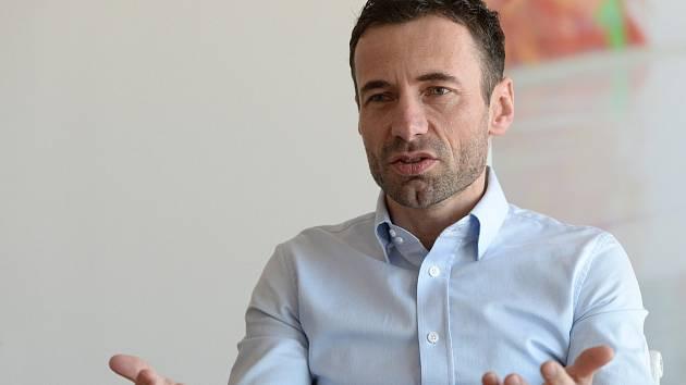 Fotbalový manažer a šéf společnosti Sport Invest Internationa Viktor Kolář