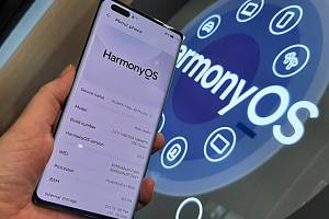 Operační systém Huawei Harmony OS.