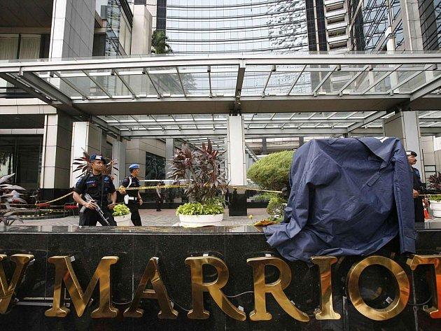 Pumový útok h hotelu Mariott v indonéské Jakartě
