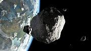Asteroid - Ilustrační foto