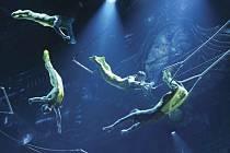 Vystoupení skupiny Cirque du Soleil