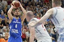Přípravný turnaj basketbalistů: ČR - Polsko, 10. srpna 2019 v Praze