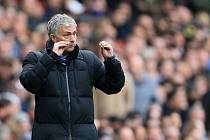 Trenér Chelsea Jose Mourinho.