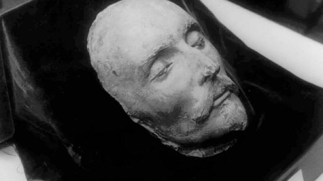 William Shakespeare,britský spisovatel a dramatik - posmrtná maska