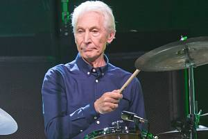 Bubeník skupiny Rolling Stones Charlie Watts
